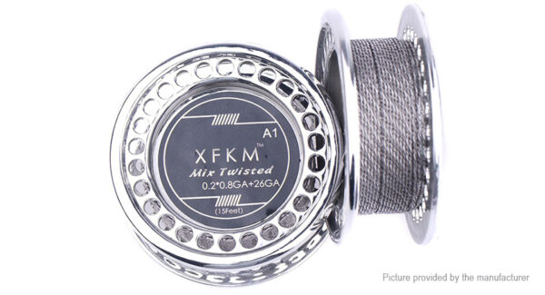 Authentic XFKM Kanthal A1 Mix Twisted Heating Wire
