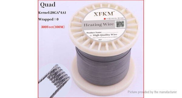 Authentic XFKM Kanthal A1 Quad Heating Wire