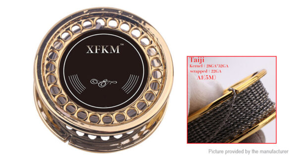 Authentic XFKM Kanthal A1 Taiji Heating Wire
