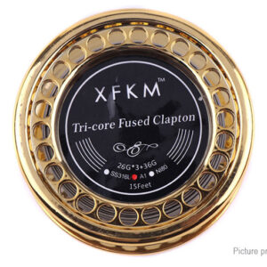 Authentic XFKM Kanthal A1 Tri-core Fused Clapton Heating Wire