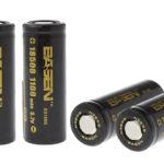 BASEN IMR 18500 3.7V 1100mAh Rechargeable Li-ion Battery (4-Pack)