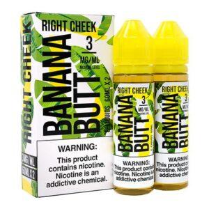 Banana Butt E-Liquid - Right Cheek - 2x60ml / 0mg