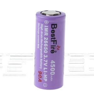 "BestFire IMR 26650 3.7V ""4500mAh"" Rechargeable Li-HP Battery"