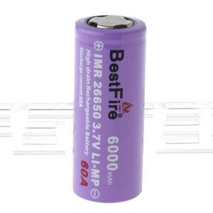 "BestFire IMR 26650 3.7V ""6000mAh"" Rechargeable Li-MP Battery"