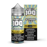 Blue Slushie Lemonade Keep it 100 E-Liquid 100ml