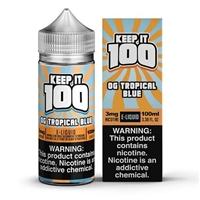 Blue Slushie Tropical Keep it 100 E-Liquid 100ml