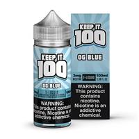 Blue Slushie by Keep it 100 E-Liquid 100ml