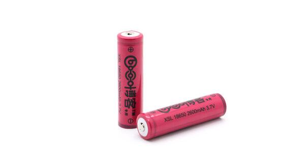 Boke 18650 3.7V 2600mAh Rechargeable Li-ion Batteries