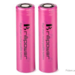 Brillipower IMR 18650 3.7V 3500mAh Rechargeable Li-Ion Battery (2-Pack)