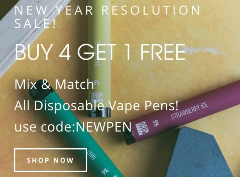 Buy 4 disposable vape bars get 1 for free-Max-Quality image