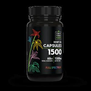 CBD Capsules 60ct FULL SPECTRUM
