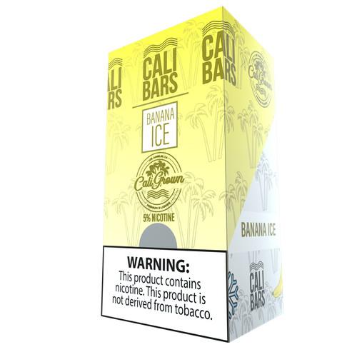 Cali Bars x Cali Grown Disposable (5%) - Box of 10 - Banana Ice