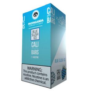 Cali Bars x Propaganda Disposable (5%) - Box of 10 - Blue Slush Ice