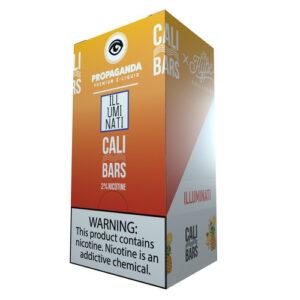 Cali Bars x Propaganda Disposable (5%) - Box of 10 - Illuminati