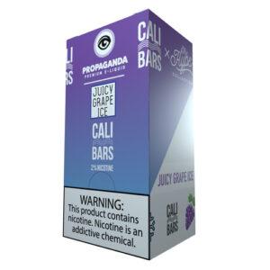 Cali Bars x Propaganda Disposable (5%) - Box of 10 - Juicy Grape Ice