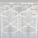 Clrane Replacement Glass Tank for SMOK TFV8 X-Baby Clearomizer (5-Pack)