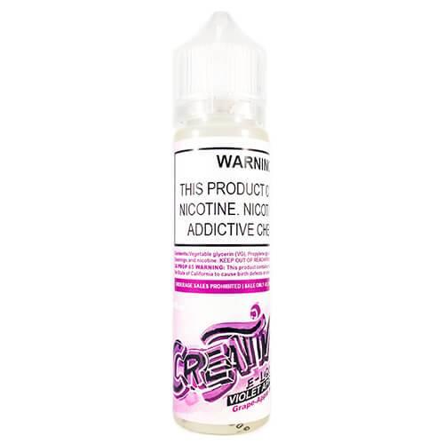 Creativ E-liquid - Violet Apple - 60ml / 3mg