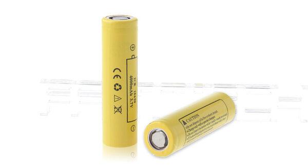ECR 18650 3.7V ''4000mAh'' Rechargeable Li-ion Batteries (2-Pack)