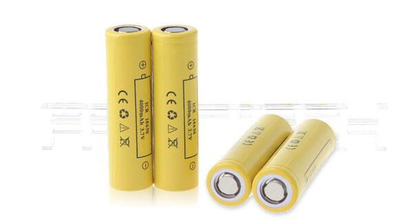 ECR 18650 3.7V ''4000mAh'' Rechargeable Li-ion Batteries (4-Pack)
