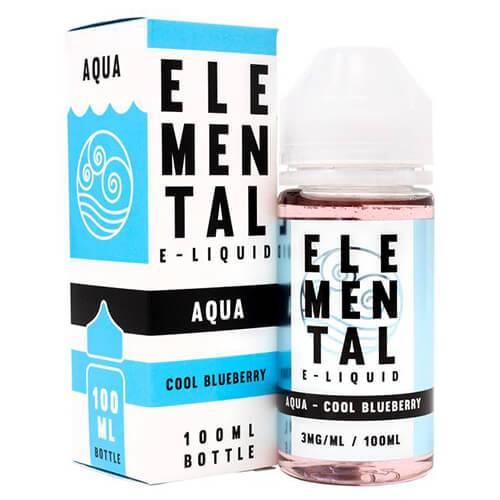 Elemental E-Liquid - Aqua - 100ml / 0mg