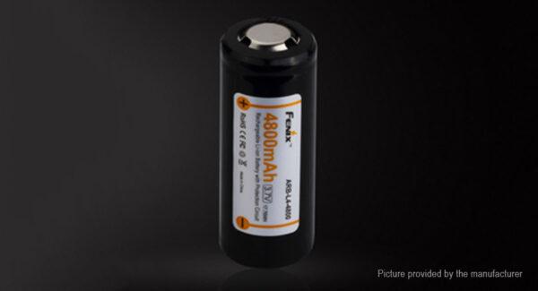 Fenix ARB-L14 ICR 26650 3.7V 4800mAh Protected Rechargeable Li-ion Battery