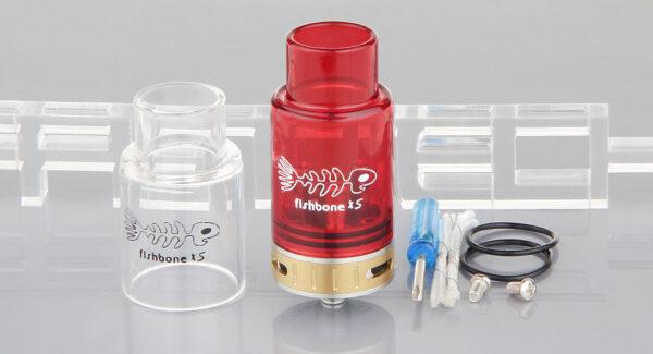 Fishbone Xs Styled RDA Rebuildable Dripping Atomizer