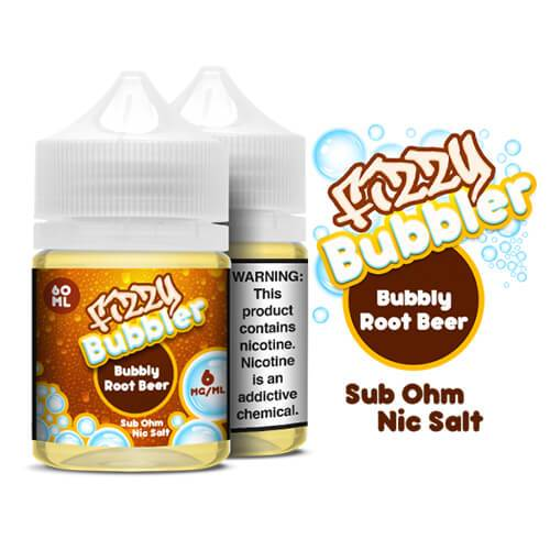 Fizzy Bubbler Nic Salts - Bubbly Root Beer - 60ml / 0mg