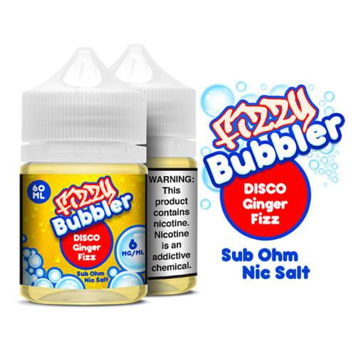 Fizzy Bubbler Nic Salts - Disco Ginger Fizz - 60ml / 6mg