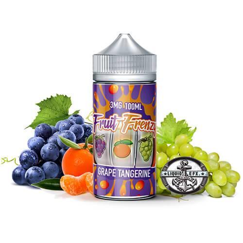 Fruit Frenzy by Liquid EFX Vape - Grape Tangerine - 100ml / 0mg