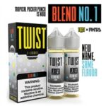 Fruit Twist E-Liquid Tropical Pucker Punch 120mL