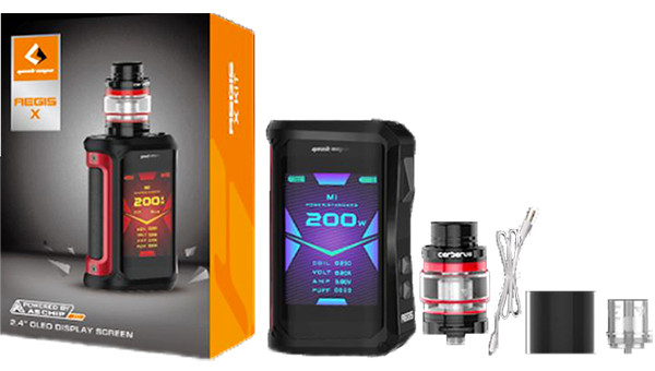 GeekVape Aegis X 200W TC Box Mod Kit