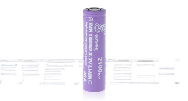 Gpower IMR 18650 3.7V 2100mAh Rechargeable Li-Mn Battery