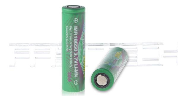 Gpower IMR 18650 3.7V 2500mAh Rechargeable Li-Mn Batteries (2-Pack)