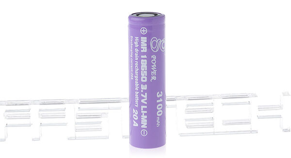 Gpower IMR 18650 3.7V 3100mAh Rechargeable Li-Mn Battery