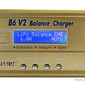 HTRC B6 V2 80W 6A Digital Battery Balance Charger Discharger