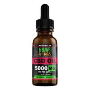 Hemp Bombs Watermelon CBD Oil 5000mg 30ml