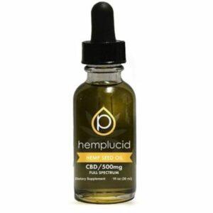 Hemplucid CBD Hemp Seed Oil 500mg 30ml