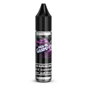 High-VG Brand E-Liquid - Grape - 15ml / 0mg