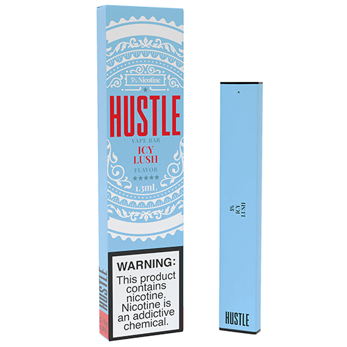 Hustle - Disposable Vape Device - Icy Lush - 1.3ml / 50mg
