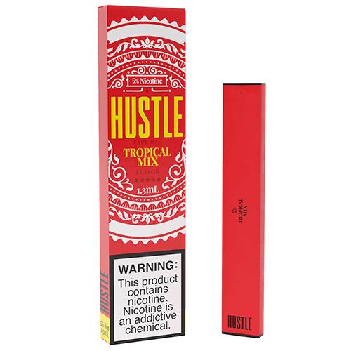 Hustle - Disposable Vape Device - Tropical Mix - 1.3ml / 50mg