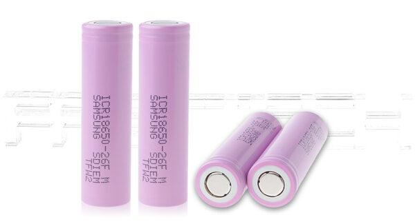 ICR 18650-26F 3.7V 2600mAh Rechargeable Li-ion Batteries (4-Pack)
