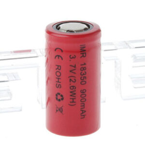 IMR 18350 3.7V 900mAh Rechargeable Li-ion Battery