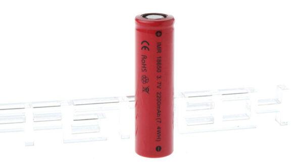 IMR 18650 3.7V 2200mAh Rechargeable Li-ion Battery