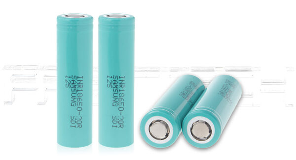 INR 18650-20R 3.7V 2000mAh Rechargeable Li-ion Batteries (4-Pack)