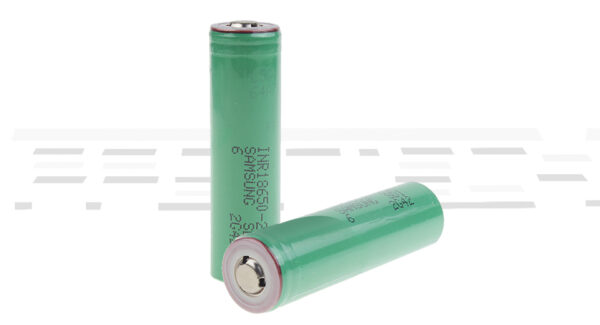 """INR 18650-25R 3.6V """"2500mAh"""" Rechargeable Li-ion Batteries (2-Pack)"""