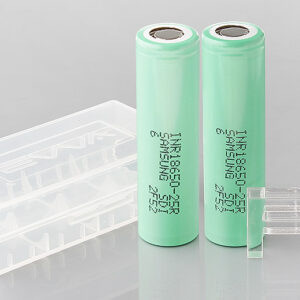 INR 18650-25R 3.6V 2500mAh Rechargeable Li-ion Batteries (2-Pack)