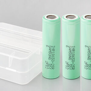 INR 18650-25R 3.6V 2500mAh Rechargeable Li-ion Batteries (4-Pack)