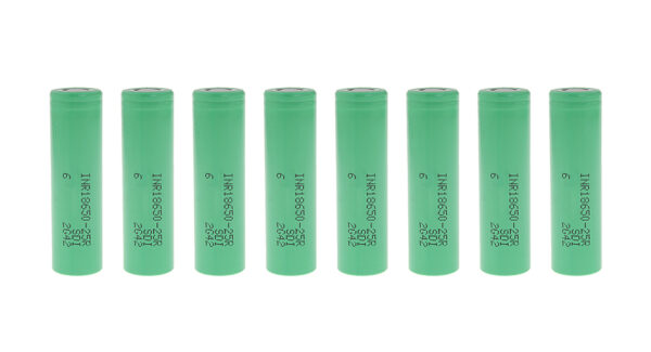 INR 18650-25R 3.7V 2500mAh Rechargeable Li-ion Batteries (8-Pack)