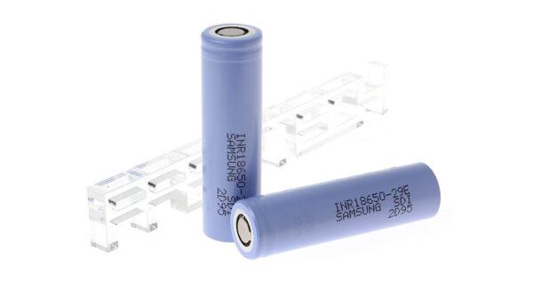 INR 18650-29E 3.65V 2900mAh Rechargeable Li-Ion Batteries (2-Piece)