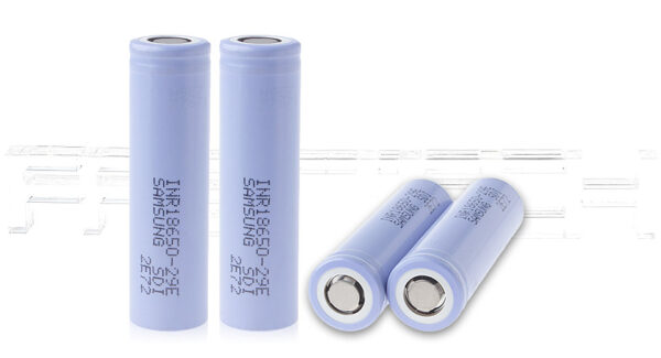 INR 18650-29E 3.6V 2900mAh Rechargeable Li-ion Batteries (4-Pack)